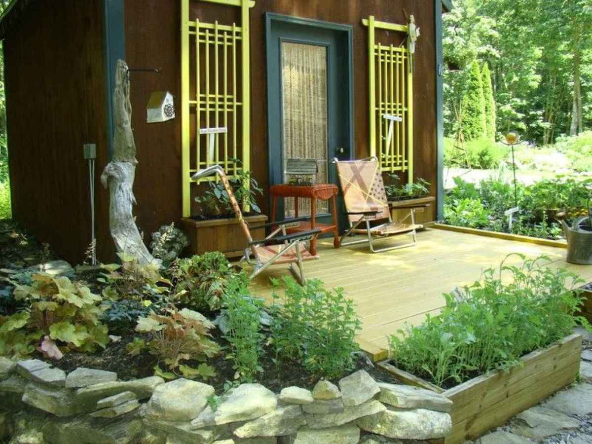 73 Small Front Porch Seating Ideas for Farmhouse Summer