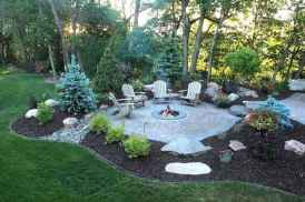 78 Easy Cheap Backyard Fire Pit Seating Area Design Ideas