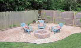 80 Easy Cheap Backyard Fire Pit Seating Area Design Ideas
