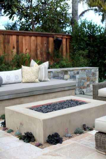 81 Easy Cheap Backyard Fire Pit Seating Area Design Ideas
