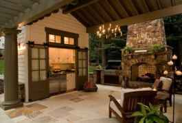 82 Awesome Outdoor Kitchen and Grill Backyard Ideas for Summer