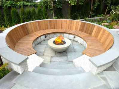82 Easy Cheap Backyard Fire Pit Seating Area Design Ideas