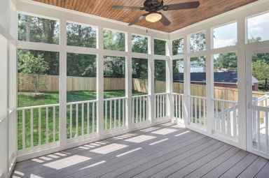 85 Gorgeous Farmhouse Screened In Porch Design Ideas for Relaxing