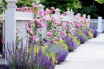95 Fresh and Beautiful Front Yard Flowers Garden Landscaping Ideas