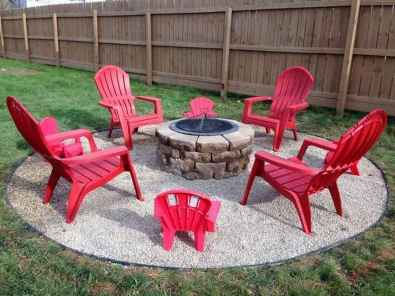 98 Easy Cheap Backyard Fire Pit Seating Area Design Ideas