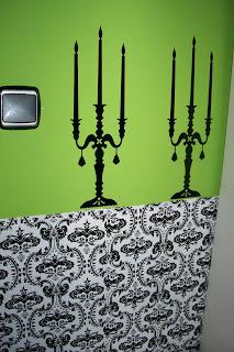 paredes decoradas con vinilos adhesivos