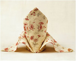 como doblar una servilleta de forma original