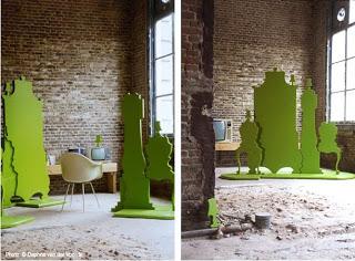 buscar la escala al elegir y disponer muebles