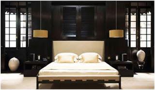 iluminar un dormitorio con lamparas colgantes