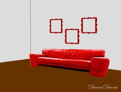 C mo colgar cuadros sobre el sof - Cuadros para encima del sofa ...