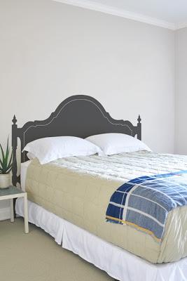 Cabeceros de cama con vinilos decorativos - Vinilos decorativos cabecero ...