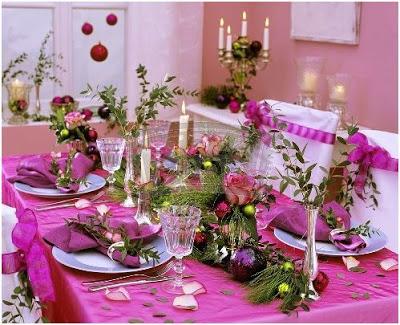 como poner y decorar la mesa