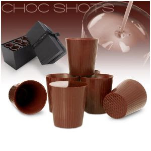 vasitos de chocolate
