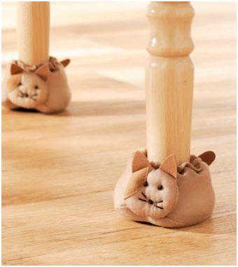 Decora las patas de las sillas y protege los suelos - Protector de suelo para sillas ...