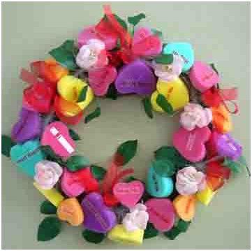 san valentin decoracion coronas