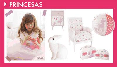 Decoración para niñas princesa