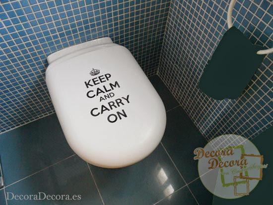 Decorar con Keep Calm and Carry On