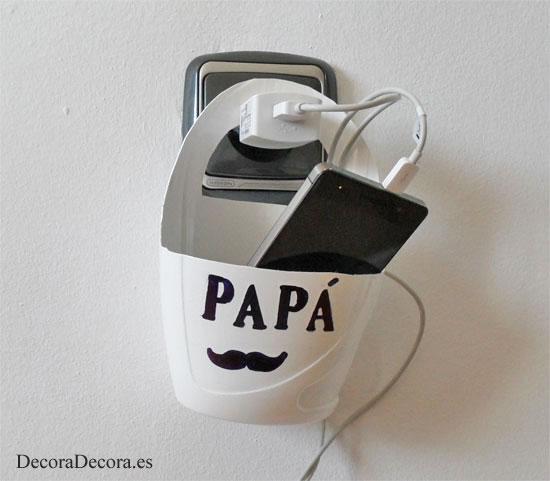 Un regalo, decorativo, funcional y económico, para papá.