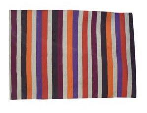 alfombra de rayas