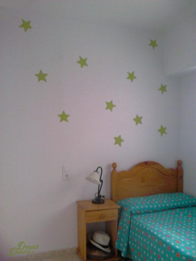 Estrellas pared.