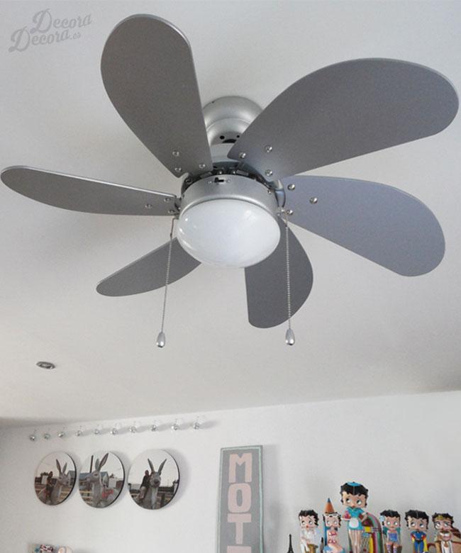 Mi ventilador de techo - Ventiladores leroy merlin ...