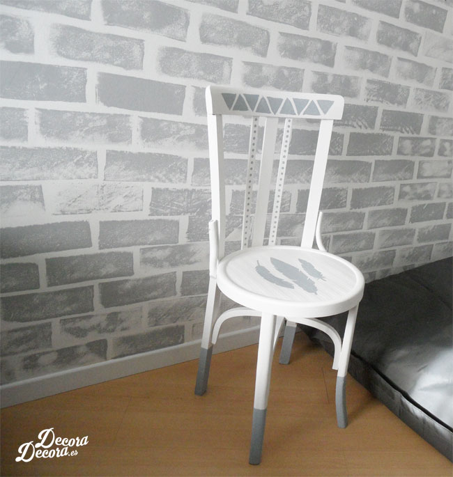 Decorar silla con pintura