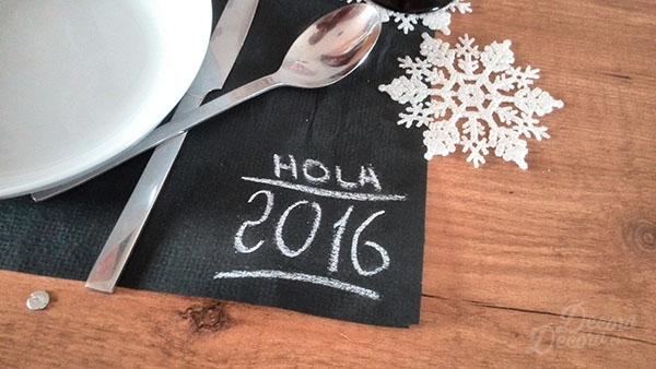 Fin de Año decoración