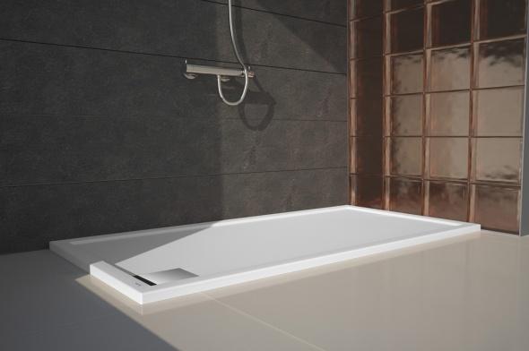 Platos de ducha alargados