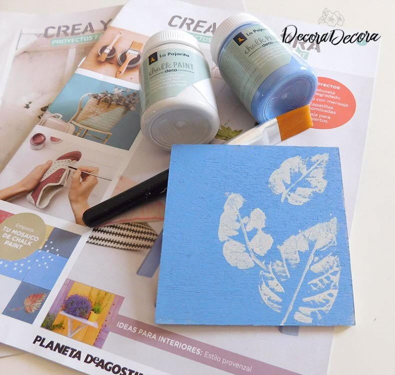 Manualidades con chalk paint