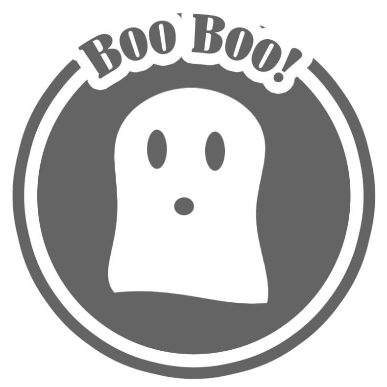 decorar con etiquetas de halloween
