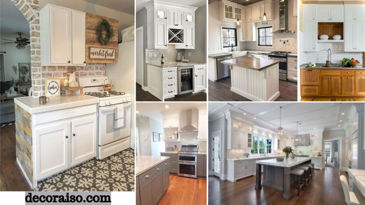 48 Simple and Creative DIY Kitchen Makeover Ideas