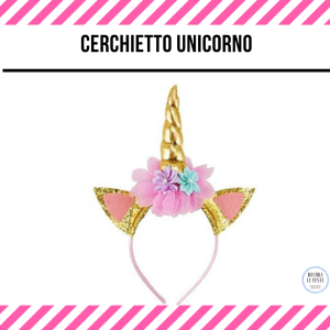 cerchietto unicorno