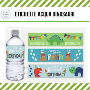 etichette adesive acqua