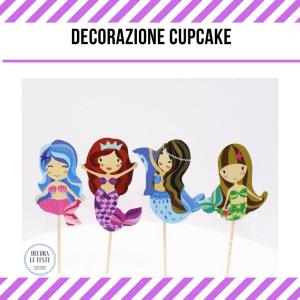 cupcake sirena