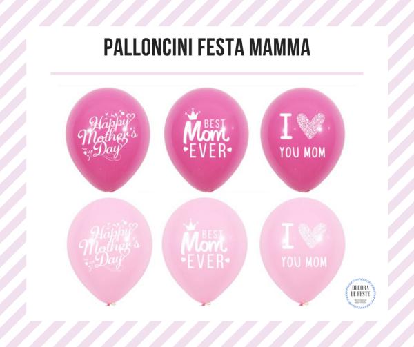 palloncini festa mamma