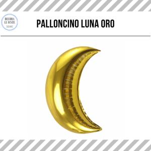 palloncino luna oro