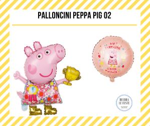 palloncino peppa pig