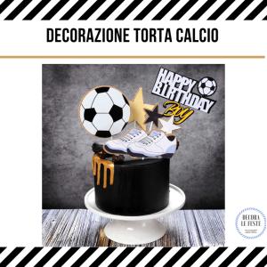 decorazione torta calcio