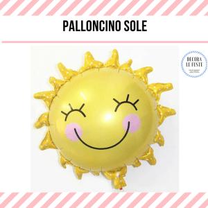 palloncino a forma di sole