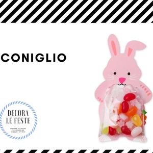porta caramelle coniglio