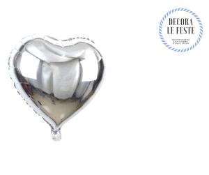 mini palloncino argento