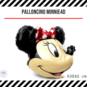palloncino 4D minnie