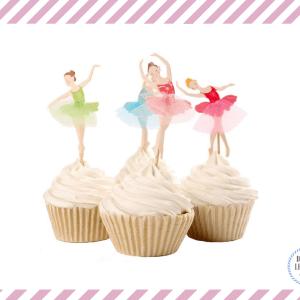 topper cake ballerina