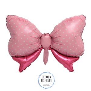 palloncino fiocco rosa