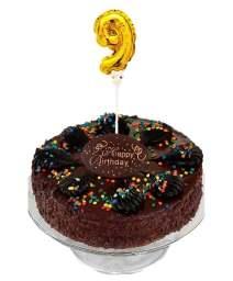 palloncino numero torta