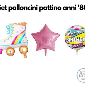 palloncini festa anni 80