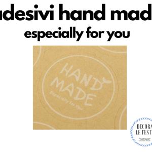 adesivi hand made