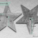 DIY Wooden Christmas star by WhenDesignWorks