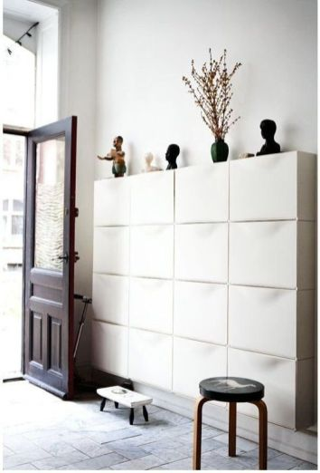 3. Shoe rack Trones by Ikea. Plenty of space for the whole family