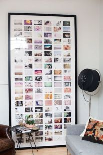 Ideas DIY para decorar las paredes con fotos